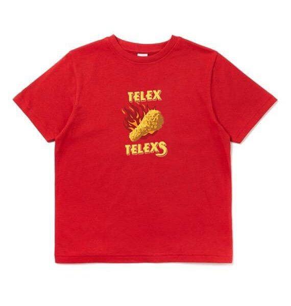 เสื้อวง TELEx TELEXs สีแดง