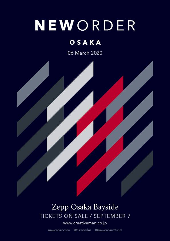 New Order Osaka tour March